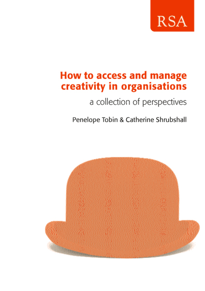 2002-How-to-Access-and-Manage-Creativity Catherine Shrubshall Penelope Tobin RSA Barrier Breakers