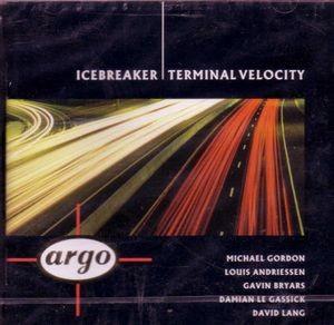 Terminal Velocity Catherine Shrubshall Gavin Bryars