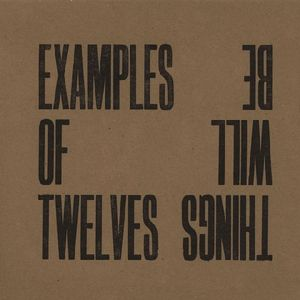 Examples of Twelves Catherine Shrubshall